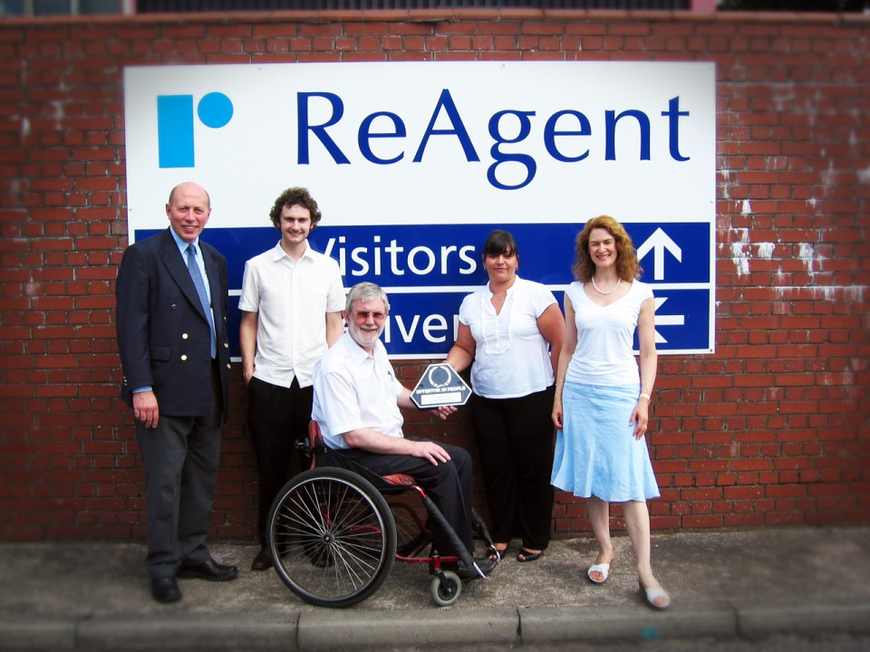 ReAgent Receives IIP Award in 2006